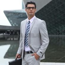 男式高档西装白领休闲西服套装职业办公西装外贸商务西服批发