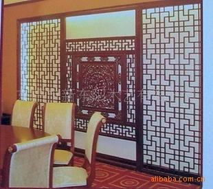 花格生产批发商 供应仿古现代欧式镂空花格,隔断,背景墙,玄关,高清图片