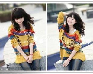 韩版毛衣图片