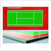 供应陕西西安体育远动橡胶地板硅PU图片
