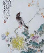 毕伯涛瓷板画图片