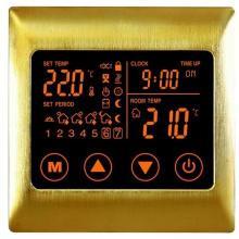 供应电暖金属拉丝触摸温控器JN-2010D