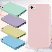 供应iphone4s手机壳 硅胶 4s手机壳 软壳 苹果4手机套 外