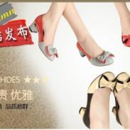 真皮女鞋图片