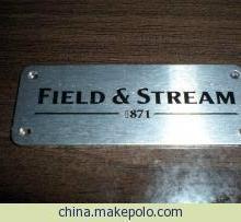 供应东莞铝片标牌丝印滴胶标牌优秀标牌供应商东莞智美标牌厂批发