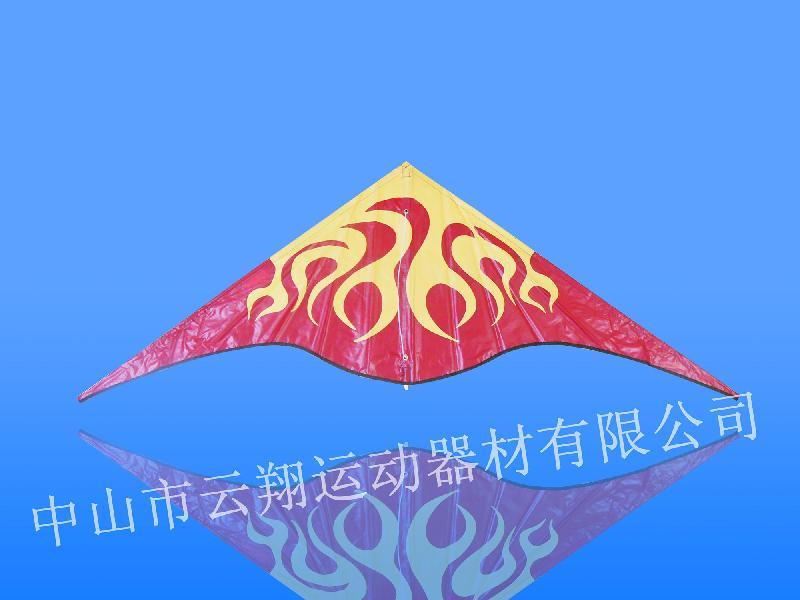 供应畅销三角形火云风筝中山云翔正品图片