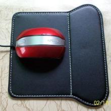 供应最新款广州PU皮鼠标垫高档鼠标皮垫批发广告赠品批发