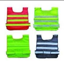 供应反光安全服施工保护网格背心可印字警示防护环卫反光衣批发