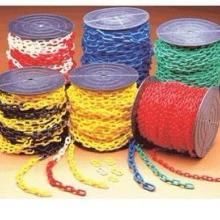 广州批发塑料链条 塑胶警示链条 黄黑警戒链 红白安全链 护栏链