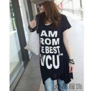 韩版女装长短袖T恤图片