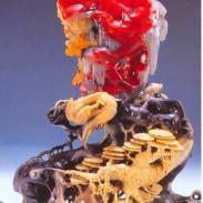 赤峰巴林鸡血石图片