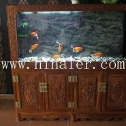 河南安阳红木鱼缸招商代理加盟图片