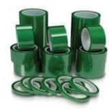 供应PET绿色高温喷涂胶带耐高温绿色胶 PET绿色高温喷涂胶带耐高温胶带