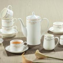 供应陶瓷咖啡具15头套装/咖啡系列首选