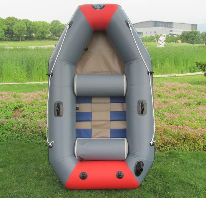 皮划艇图片 皮划艇样板图 2人夹网加厚充气钓鱼船皮划艇 ...