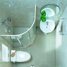专业生产XLBU1516立柱盆整体浴室