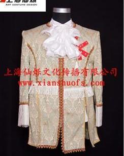 上海展会国外宫廷服装租赁王子服装图片