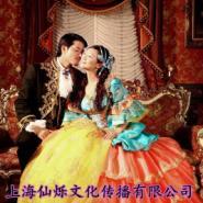 上海仙烁年会演出服装国外宫廷服装图片