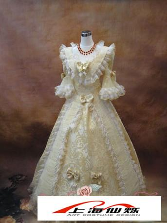 外国公主服装图片