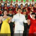 供应上海仙烁合唱服装租赁大型舞蹈合唱服装出租红军大合唱服装租赁舞蹈服