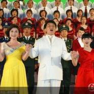 上海仙烁大型合唱服装出租图片
