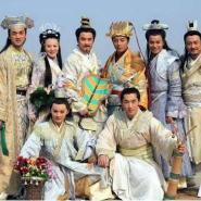 上海展会四大才子服装出租话剧服装图片
