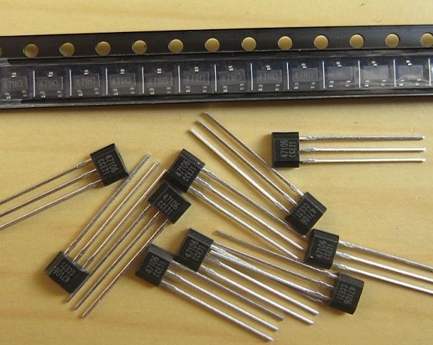 供应榨汁机用霍尔元件霍尔磁敏三极管