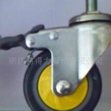 供应货架脚轮支撑架地刹器顶高器批发