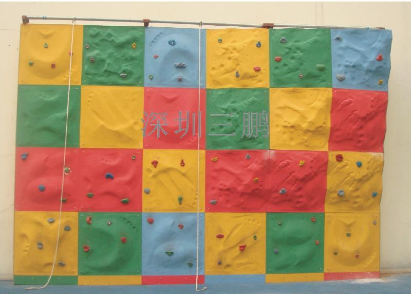 供应宣城攀岩墙生产厂家人造攀岩墙规格