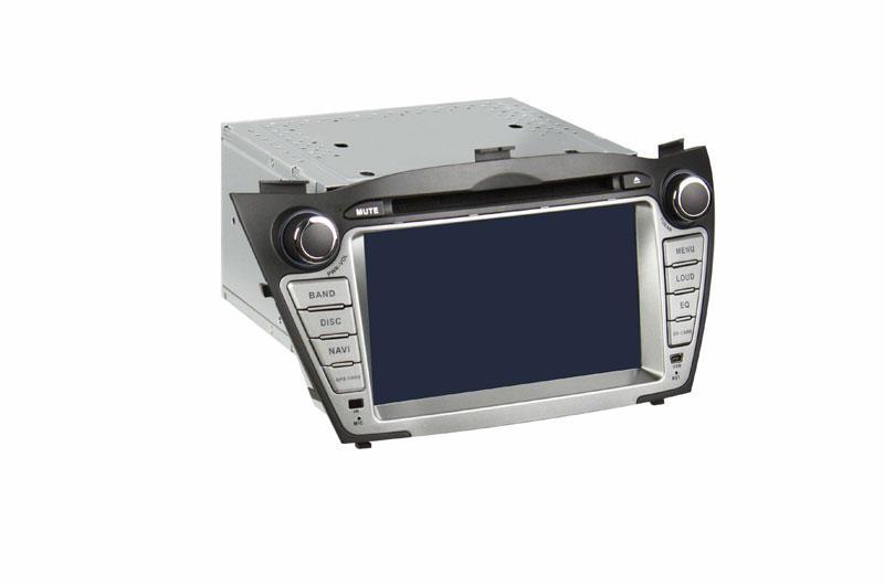 供应现代ix35专用车载dvd导航