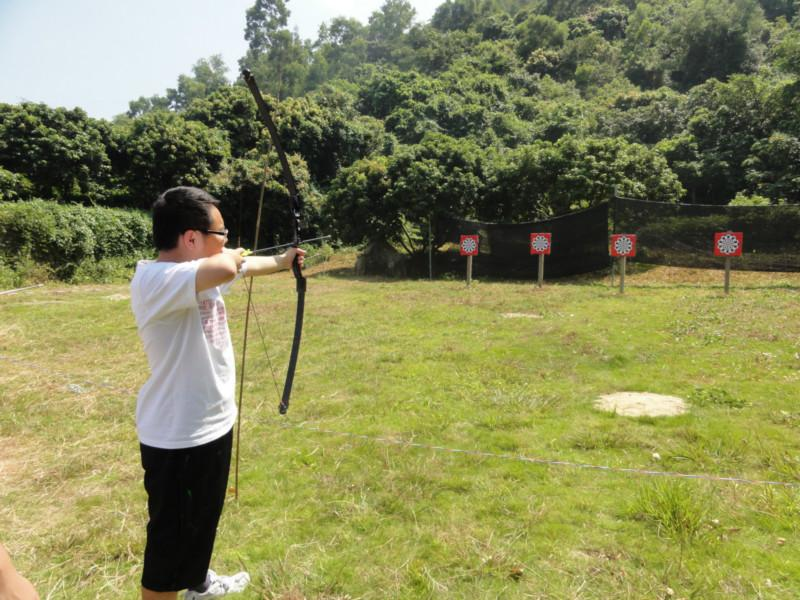 深圳农家乐旅游射箭比赛图片