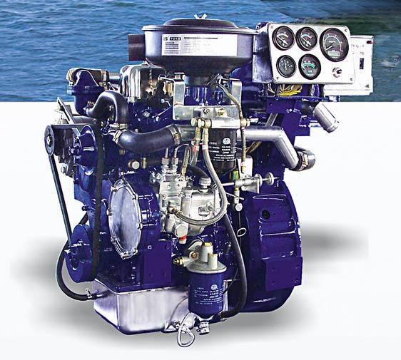船用发动机图片_船用柴油发动机