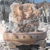 供应永兴建造景观雕塑_壁盆_曲阳石雕_石雕塑