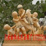 供应小天使图片、雕刻动物、雕刻人物、仿古石雕