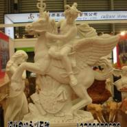 河北保定曲阳县汉白玉石雕大型人物图片