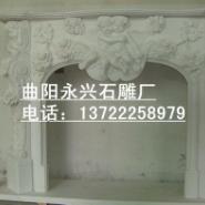 石雕欧式壁炉图片