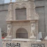 供应河北曲阳县双层壁炉雕刻厂家、壁炉设计、壁炉大全、永兴石雕供货商