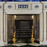 曲阳石雕欧式壁炉图片