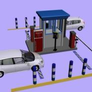 停车场系统蓝牙远距离读卡器图片