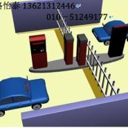 智能远距离停车场系统直杆道闸图片