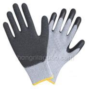 10针乳胶涂胶手套-劳保手套图片