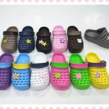 供应生产EVA花园鞋EVA拖鞋沙滩鞋TPU鞋批发