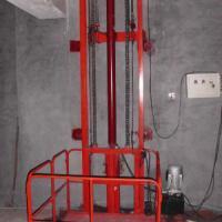 导轨式升降机,升降货梯,升降梯,升降平台,壁挂式升降机 图片|效果图