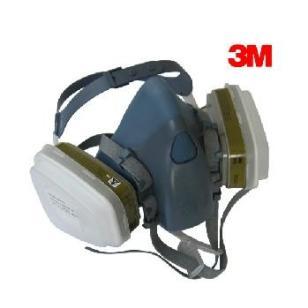 正品3M7502防毒面具 喷漆防毒口罩图片