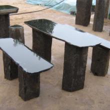 供应最大的蒙古黑机刨石厂家图片