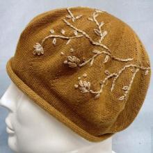 供应针织帽定型帽/针织贝雷帽批发