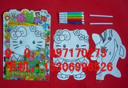 卡通 气球/供应气球涂鸦技巧DIY涂色气球卡通气球涂色玩具批发图片