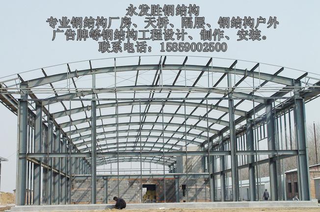 瑞金钢结构公司专业钢架结构图片 瑞金钢结构公司专业钢架结构样板图