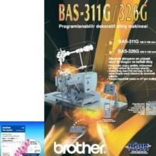 供应兄弟牌电脑花样缝纫机数据编辑软件PS-300B价格1800元/台批发