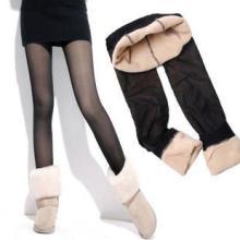 供应银丝裤加厚竹炭双层拉绒保暖打底裤批发
